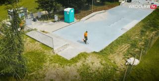 Skatepark Wielka Wyspa powstaje na Bartoszowicach