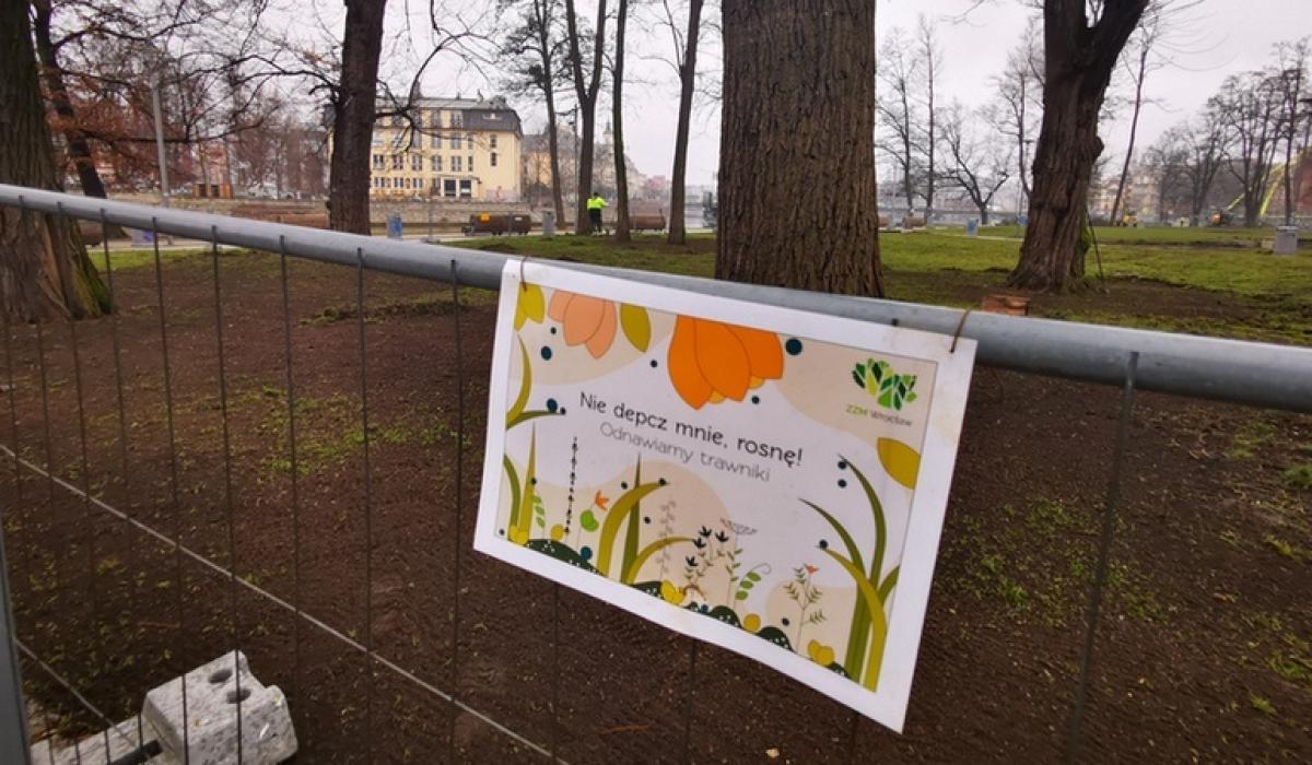 Wkrótce wyspa Słodowa będzie miała nowe trawniki