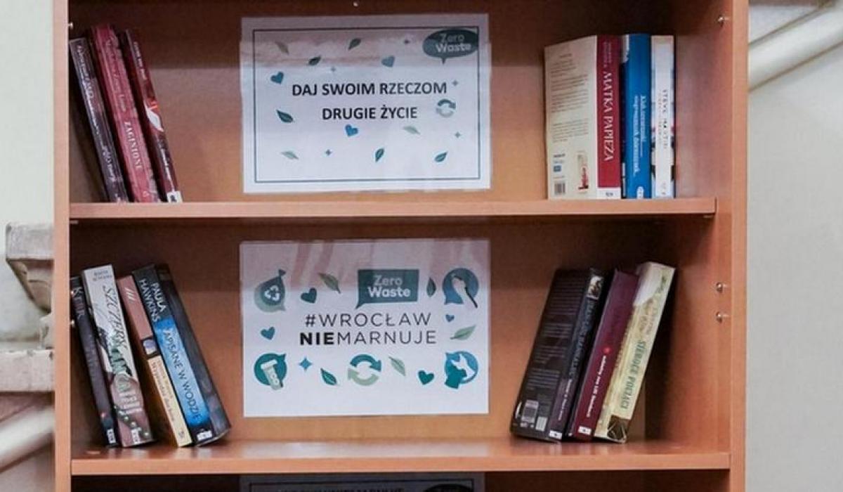 Bookcrossing we Wrocławiu - wymiana książek