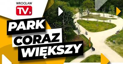 Grafika przedstawia Park Kleciński
