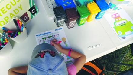 Warsztaty są prowadzone zarówno dla dzieci, jak idorosłych
