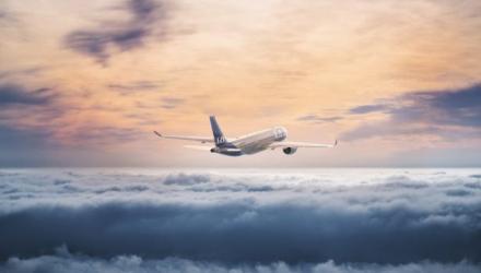 Samolot linii lotniczych SAS