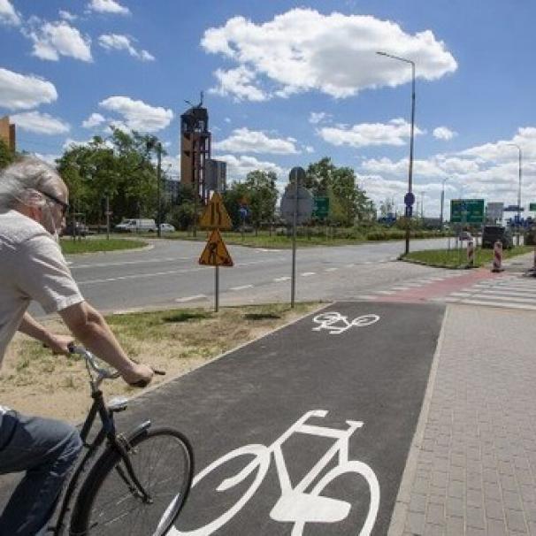 Rozpoczęła się budowa drogi rowerowej przy ul. Hubskiej