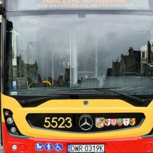 21 sierpnia ruszają nowe linie autobusowe dla aglomeracji wrocławskiej
